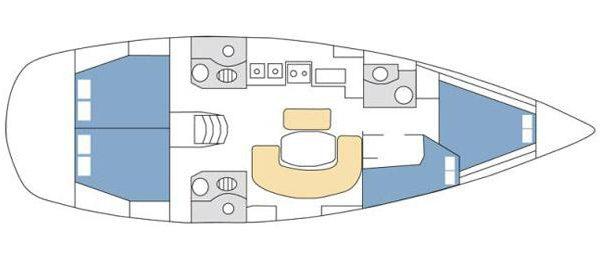 oceanis 423 layout